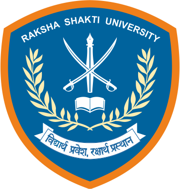 Raksha Shakti University Logo