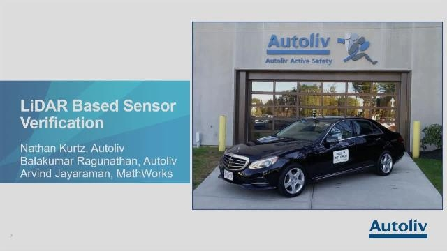 This presentation shows a MATLAB-based tool to alleviate pains with labeling LiDAR point-cloud data. It covers the time savings, the accuracy of the labels achieved, and how this approach provides substantial benefit to Autoliv's validation process.