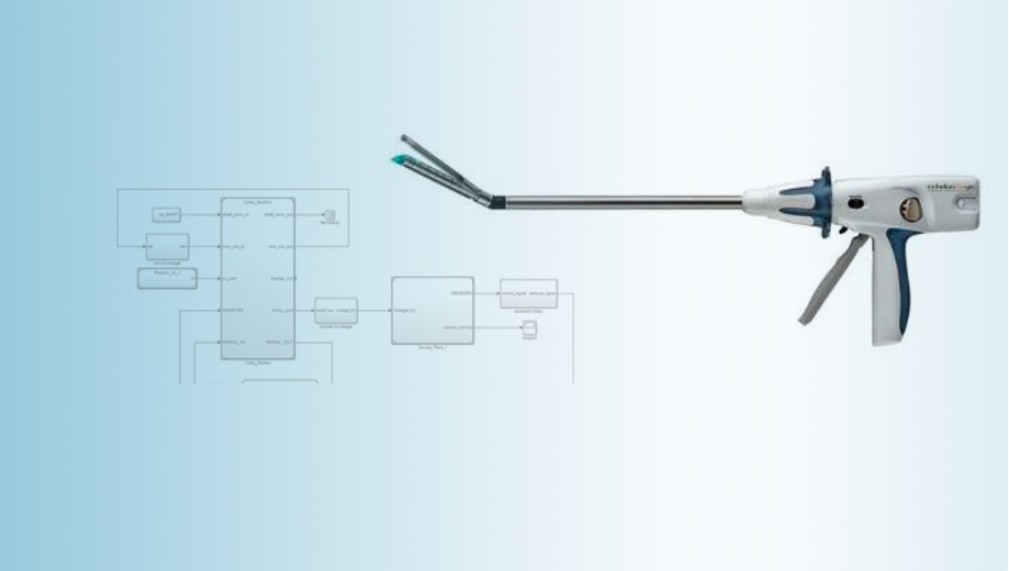 Creating an Endoscopic Surgical Stapler Prototype Using Model-Based Design
