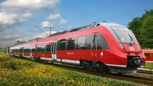 Bombardier train for Germany.