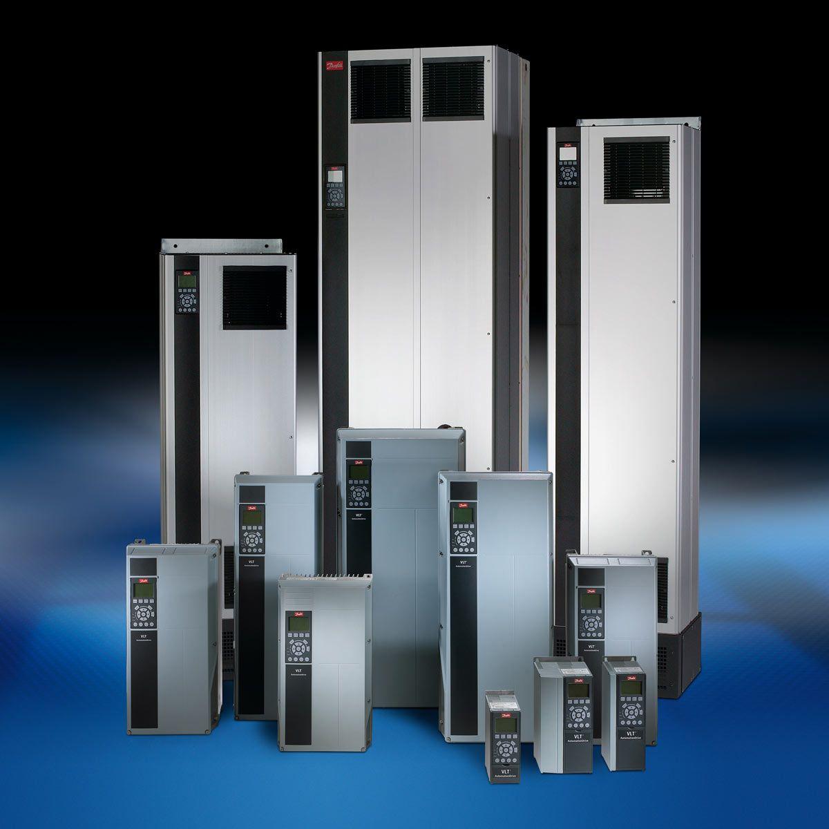 The Danfoss VLT AutomationDrive FC302.