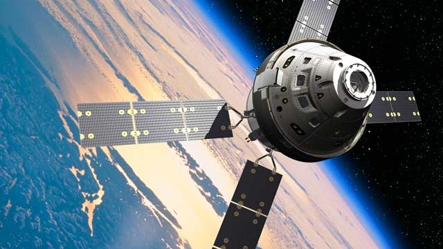 NASA's Orion spacecraft.