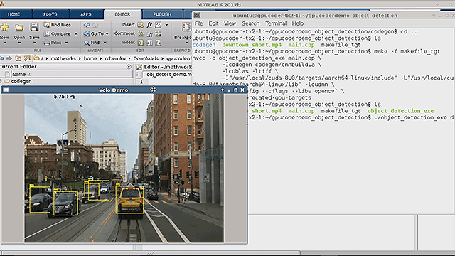 Generate and Deploy CUDA Code for Object Detection on NVIDIA