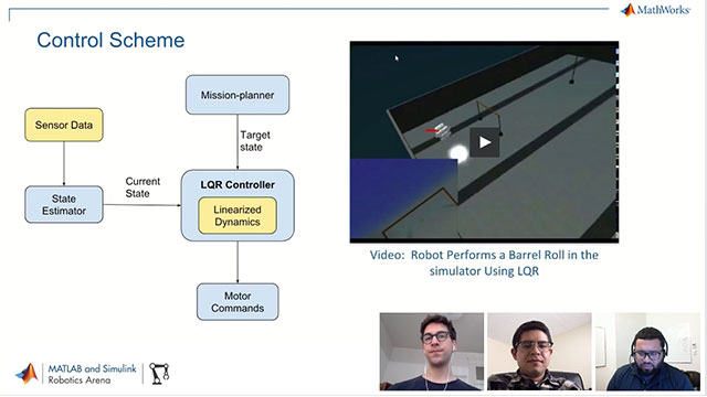 Learn the basics of implementing a Linear-Quadratic Regulator (LQR) controller for an autonomous underwater vehicle with Juan Rojas and Nathan Liebrecht of the Autonomous Robotic Vehicle Project.