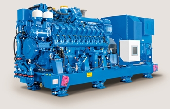 Figure 1. MTU mission-critical diesel genset, used to generate emergency power for a nuclear power plant.