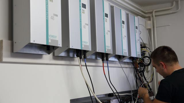 VONSCH Speeds the Development of Control Systems for Solar Inverters and Battery Chargers