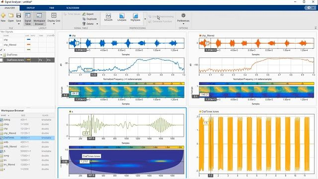 Learn how to perform signal analysis tasks such as preprocessing, filtering, and feature extraction in MATLAB with the Signal Analyzer app.