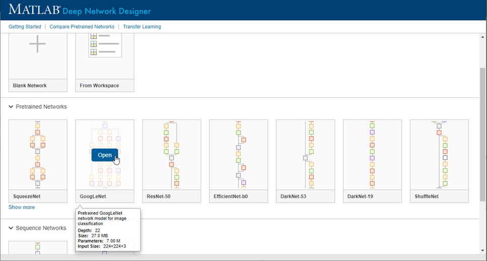 Build Networks With Deep Network Designer Matlab Simulink Mathworks India
