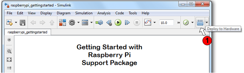 Simulink support package for raspberry pi
