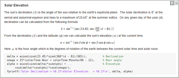 Insert Equations into the Live Editor - MATLAB & Simulink