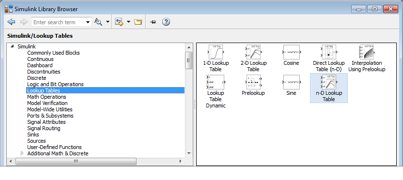 MATLAB Central - Simulink Lookup Table Dynamic