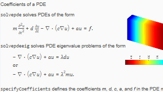 PDE Coefficients