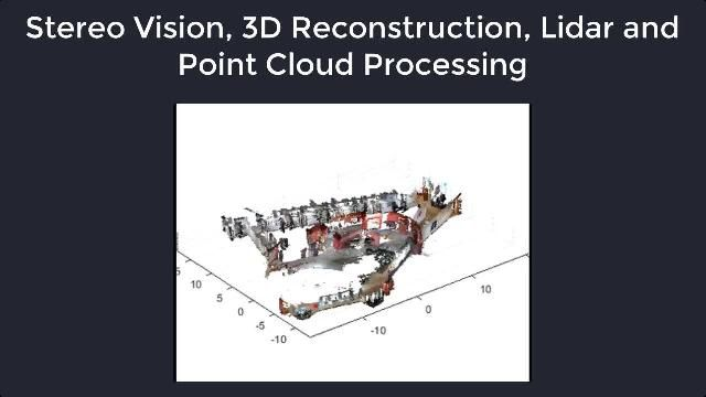 Design and test computer vision, 3D vision, and video processing systems using Computer Vision Toolbox.