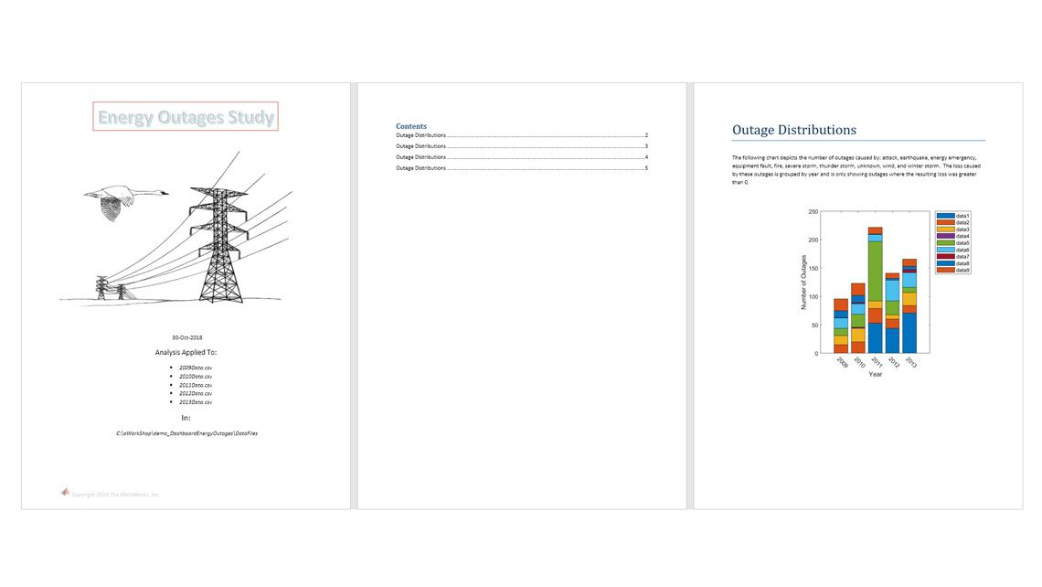 The template defines the layouts and formatting. The code defines the content.