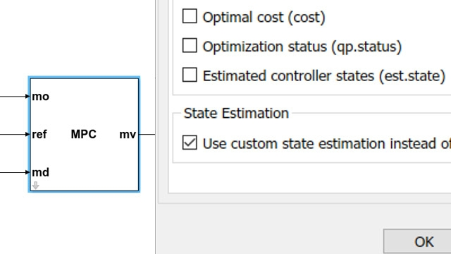 Custom state estimation.