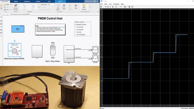 Design and implement motor control algorithms.