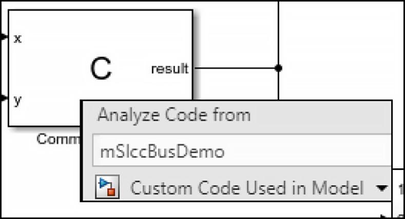 Custom Code Support in Simulink