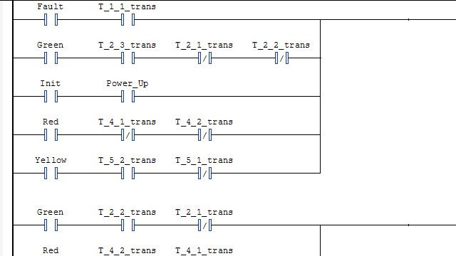 Generate a Ladder Diagram and import it into an IDE.