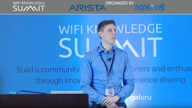 Colin McGuire's Talk at WiFi Knowledge Summit on Modeling IEEE 802.11ax Standard