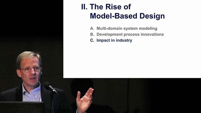 Jack Little, president and cofounder of MathWorks, discusses the impact of Model-Based Design across industry and academia.