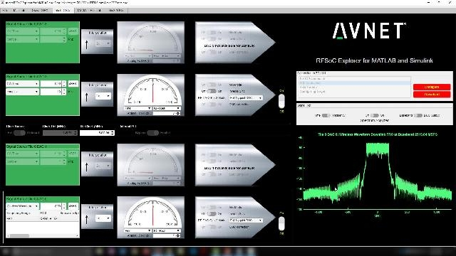 This session from Avnet will talk about using the Xilinx RFSoC and connect from MATLAB and Simulink to characterize performance of RFSoC data converters, as well as control an RF front-end and also perform radio-in-the-loop data capture.