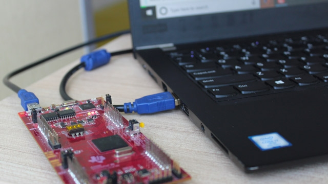 Install the Embedded Coder support package for TI C2000 processors and deploy a Simulink model using the hardware support package to blink the on-board LED on the TI F28379D LaunchPad.