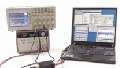 Communicate with your test equipment using industry-standard communication protocols or instrument drivers.