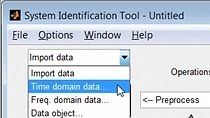 Import test data for estimating the model and validating results.