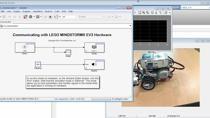 본 웨비나에서는 시뮬링크를 이용한 쉽고 간단한 LEGO MINDSTORMS EV3 로봇의 프로그래밍을 소개합니다. 먼저 LEGO MINDSTORMS EV3 하드웨어를 위한 Simulink Support Package의 다운로드와 설정 방법을 알아보고, 간단한 예제를 통해 시뮬링크 블럭들을 사용하여 로봇을 만드는 방법을 소개합니다.