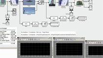 Use Simulink to develop a multidomain system level model of a radar system.