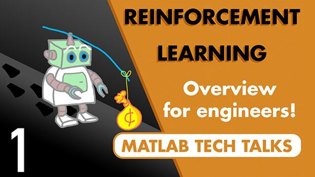 Get an overview of reinforcement learning from the perspective of an engineer. Reinforcement learning is a type of machine learning that has the potential to solve some really hard control problems.