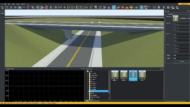 Learn how to create bridges in RoadRunner interactive editing software.