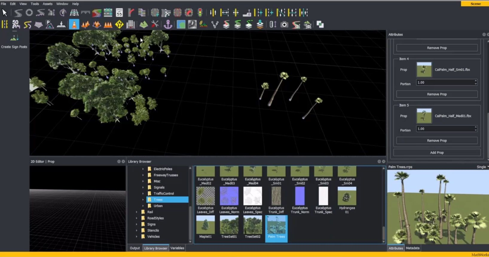 Learn how to create a prop set (ratio of selected props) in RoadRunner interactive editing software.