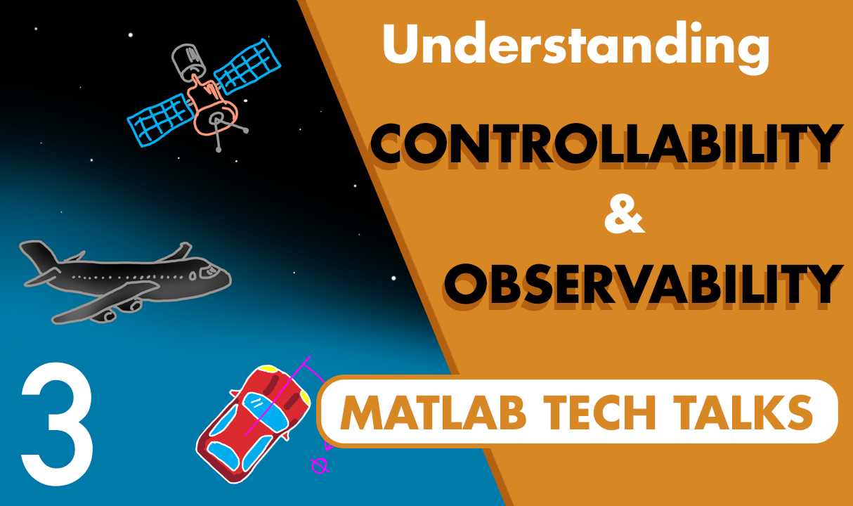 This video helps you answer two really important questions that come up in control systems engineering: Is your system controllable? And is it observable? In this video, we're going to approach the answers from a conceptual and intuitive direction.