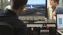 Students at the Institute for Flight System Dynamics develop avionics control algorithms, implement them on target hardware, and perform pilot-in-the-loop testing in a research flight simulator.