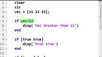 In teaching new MATLAB users, I often see them accidentally use a vector as an input to an if statement. This is not likely what they intend and it is often an overlooked syntax error. In this video, I show the error as it is often coded and a simple